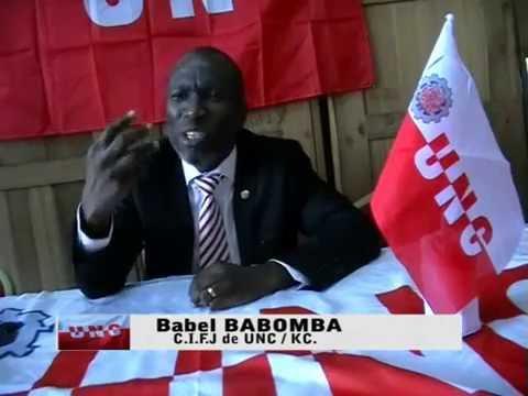 Point de Presse de la jeunesse UNC / Kongo Central