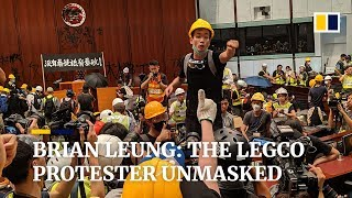 Brian Leung: The Hong Kong Legco protester unmasked