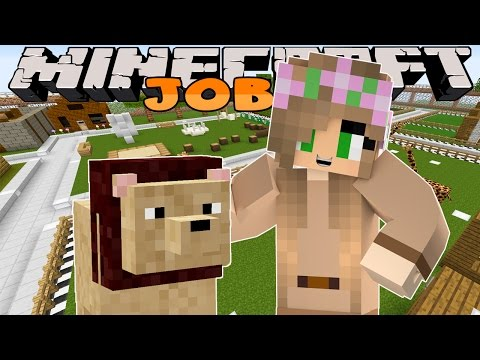 Minecraft Jobs : Little Kelly Adventures - ZOO TOUR GUIDES!