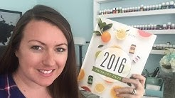 Organizing 2016 Young Living Product Guide