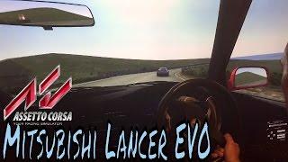 Assetto Corsa Isle of Man Battle Mitsubishi Lancer EVO VI GSR