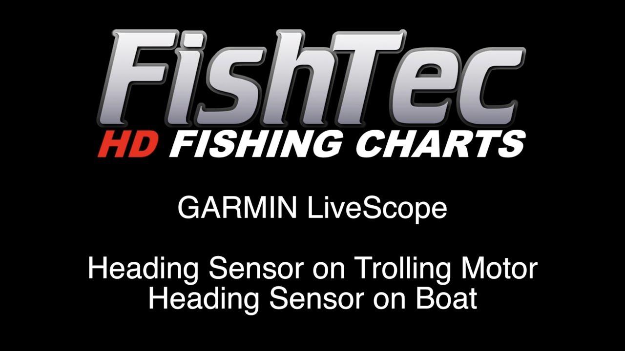 Garmin LiveScope to Scan Humps on FishTec HD Charts