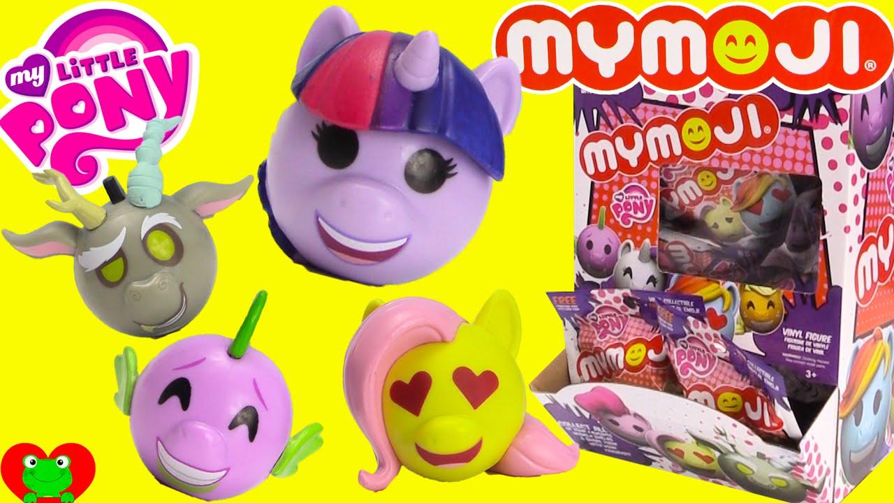 My Little Pony Mymoji Blind Bags Youtube
