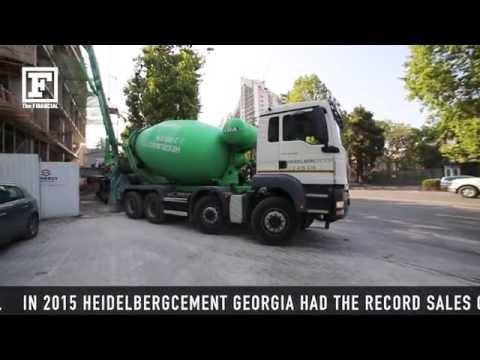 Davit Jughashvili Director of Building Materials at HeidelbergCement Georgia speaks to The FINANCIAL