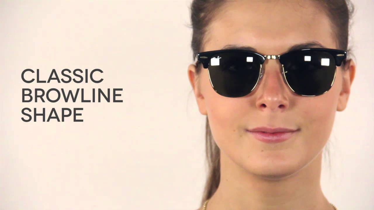 Ray-Ban RB3016 Clubmaster Classic Sunglasses Review   SmartBuyGlasses -  YouTube 7aa63ad129