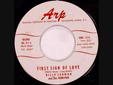 Billy Lehman and the Penn-Men - First Sign of Love (1959)