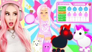 I Gave All My NEON PETS The BRAND NEW PET POTIONS In Adopt Me! Adopt Me Brand New Update
