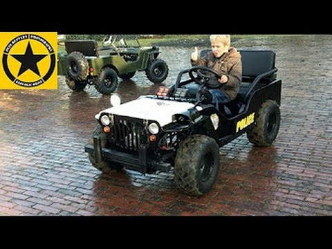 Children Jeep 10hp Testdriver Jack 4 Long Play English