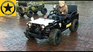 Children JEEP 10hp! TESTDRIVER Jack/4 (LONG PLAY) English Subtitles!