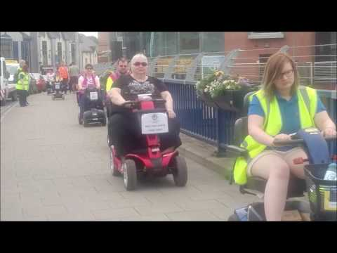 Scooters 'rally' in Omagh