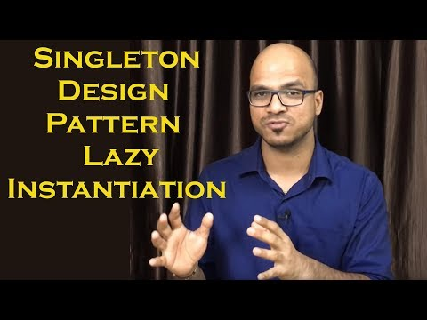Singleton Design Pattern using Lazy Instantiation Part 2