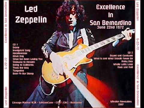 Led Zeppelin - Excellence in San Bernardino 1972/06/22 (Winston Remasters)