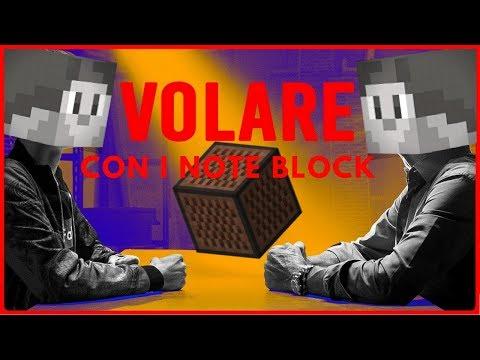VOLARE CON I NOTE BLOCK - Fabio Rovazzi (feat. Gianni Morandi) - Minecraft