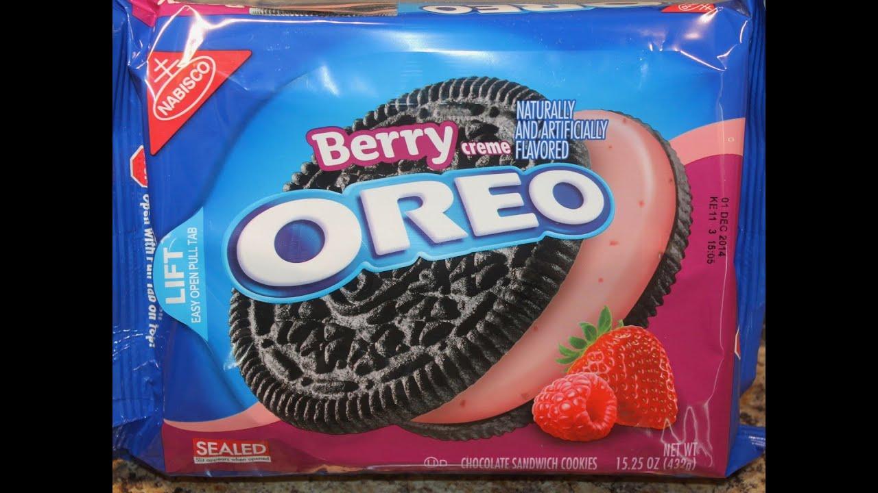 Berry CremeOreo Cookies