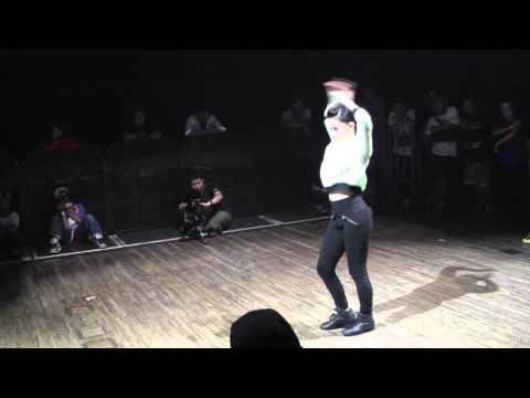SALAH vs IBUKI FREESTYLE BEST8 DANCE@LIVE CHARISMAX 2014