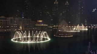 Dubai Mall Fountain show 2015