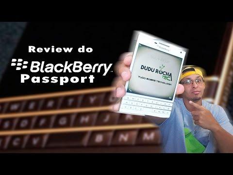 Review (Análise) do Blackberry Passport  Esse é pra quem tem estilo!
