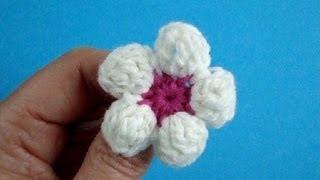Цветок яблони Вязание крючком Урок 11 How to crochet flower(ТОВАРЫ ДЛЯ ВЯЗАНИЯ ИЗ КИТАЯ http://ali.pub/i9grj Подписаться на все новые видео-уроки по емайл: http://feedburner.google.com/fb/a/mailv..., 2013-02-19T17:55:58.000Z)