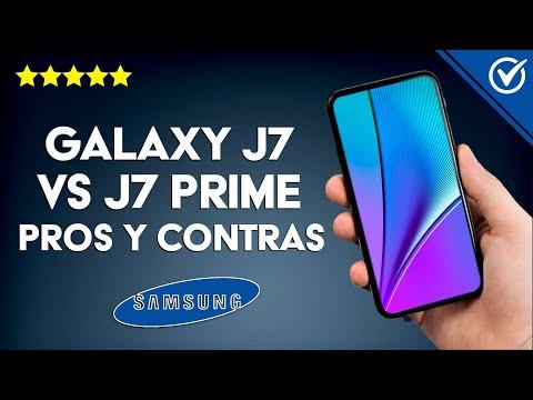 Samsung Galaxy J7 vs J7 Prime Ventajas y Desventajas pros y Contras