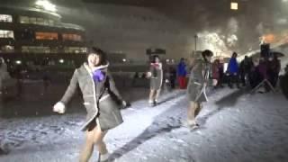 2017年2月25日 冬季アジア大会・大倉山でのミルクス本物のライブ.