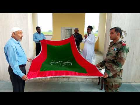 Paying Tribute on Mazaar of PVC Vijeta Veer Abdul Hameed