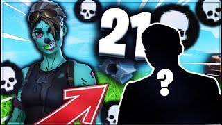 "Je tue un ""GROS YOUTUBER"" sur fortnite battle-royal ! Solo 21 Kills !!"