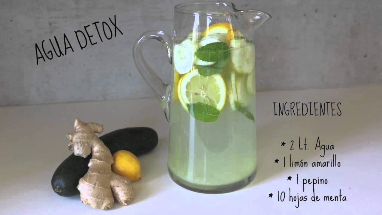 pepino jengibre y limon para bajar de peso