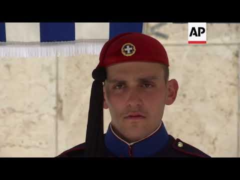 The men behind Greece's presedential guard soldiers