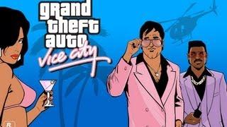 GTA ViceCity [Прохождение игры] №14 - Бежим в кровь xD