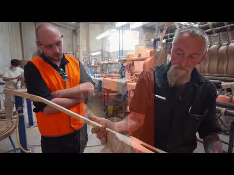 HAWORTH GUITARS VISIT THE COLE CLARK FACTORY