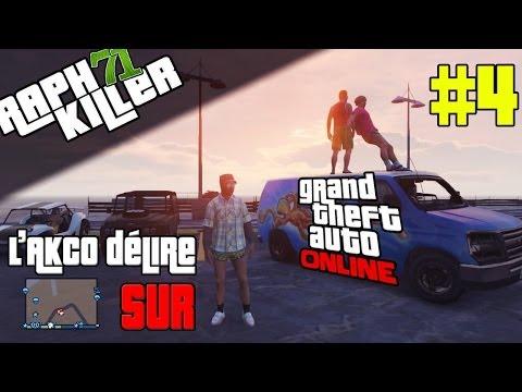 L'AkCo délire sur GTA Online #4   STOCK-CAR ET STOPPIE !