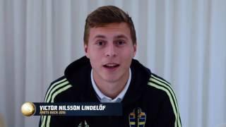 Linda Sembrandt och Victor Nilsson Lindelöf utsedda till Årets back - TV4 Sport
