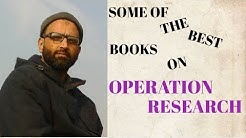 The Best Books for Operation Research | Top Four Books | Books Reviews