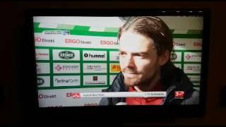 DB4, THE MASCHINE Dave Bulthuis (1.FCN) - am 05.03.2017 nach dem Derby