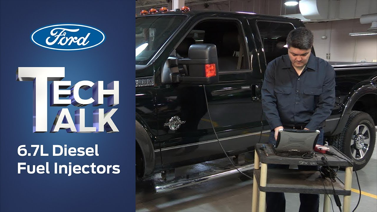 how to replace and program a ford 6 7l power stroke diesel fuel injector [ 1280 x 720 Pixel ]