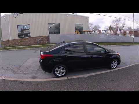 2011 Black /Gray Hyundai Elantra GLS A/T (KMHDH4AEXBU) with an 1.8L L4 DOHC 16V engine, 6-Speed Automatic transmission, located at 577 Chester Pike, Prospect Park, PA, 19076, (610) 237-1015, 39.886154, -75.302338 - Photo #0