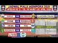 Jadwal Piala Menpora 2021 Hari ini Pekan 3 |Persib vs Persiraja|Persija vs Bhayangkara|Live Indosiar