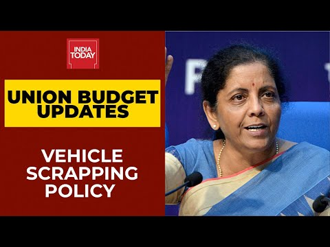 Budget 2021: FM Announces Vehicle Scrapping Policy, Fitness Test For Private Vehicles In 20 Years