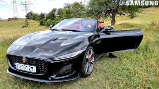 უხეში ტესტ დრაივი - Jaguar F-Type - უმარილო მწვადი! 4K