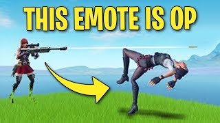 *NEW* SIT-UP EMOTE IS OP IN FORTNITE!! (PROS CAN'T GET SNIPED)