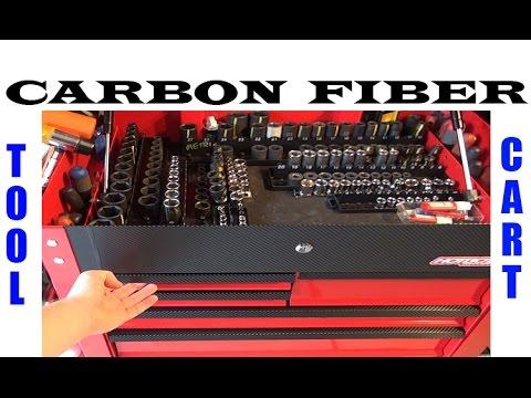 Harbor Freight Tool Cart w/Carbon Fiber