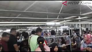 Jokowi Mengunjungi PT Boyang Industrial