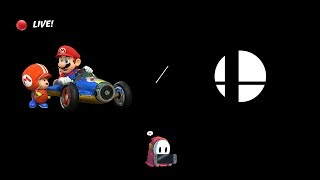 A'mareNP streams:  MK8Deluxe & SSBUltimate ~ (Mario Kart returns!!) #66