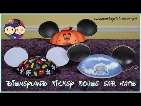 Disneyland Mickey Mouse Ear Hats