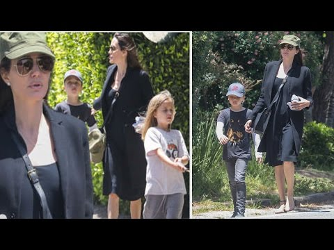 Angelina Jolie enjoys a low key Mother