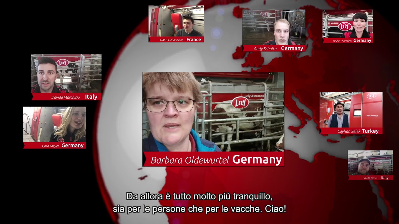 Lely Astronaut A5 – Le esperienze dei nostri allevatori – video 4 (IT)