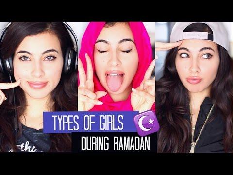 The 5 Types of Girls During Ramadan