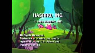 My Little Pony 1986 End Credits with Plastered Logos FAKE