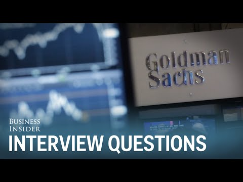 Goldman Sachs Interview Questions