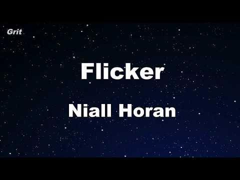 Flicker - Niall Horan Karaoke 【With Guide Melody】 Instrumental